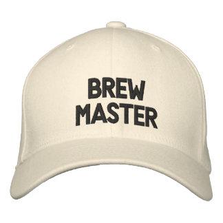 Brew Master Embroidered Baseball Cap