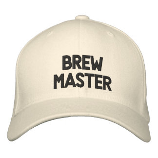 Brew Master Embroidered Baseball Cap