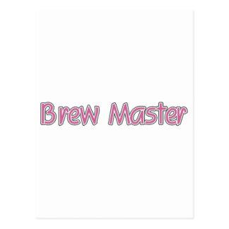 Brew Master Postcard