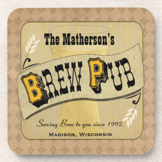 Brew Pub Custom Coasters
