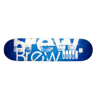 Brew, Royal Blue Stripes Skateboards
