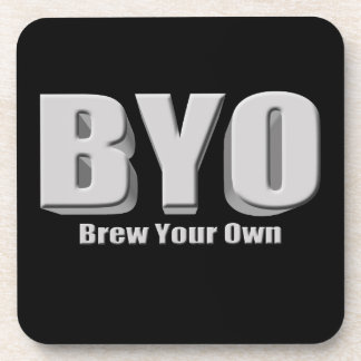 Brew Your Own Beer Beverage Coaster