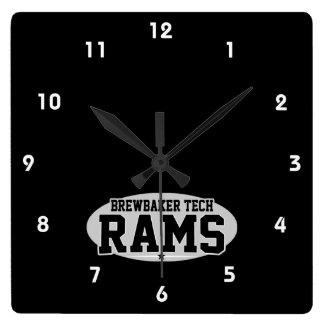 Brewbaker Tech; Rams Wallclocks