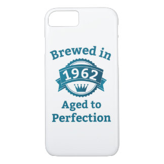 Brewed in 1962 Aged to Perfection iPhone 8/7 Case