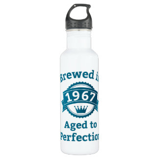 Brewed in 1967 Aged to Perfection Stainless Steel Water Bottle