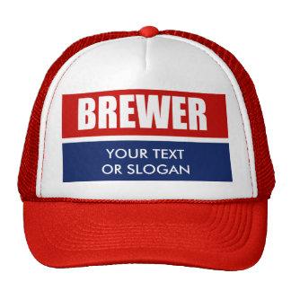 BREWER 2012 TRUCKER HAT