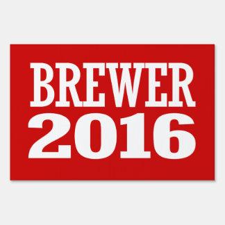 BREWER 2016 SIGNS