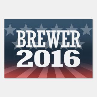 BREWER 2016 YARD SIGNS