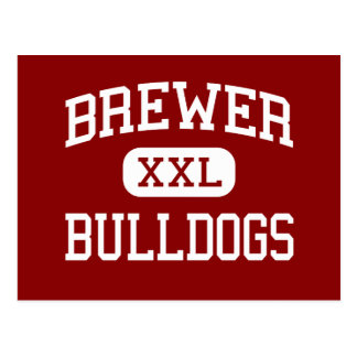 Brewer - Bulldogs - Middle - Greenwood Postcard