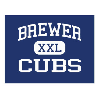 Brewer Cubs Middle School Fort Worth Texas Postcard