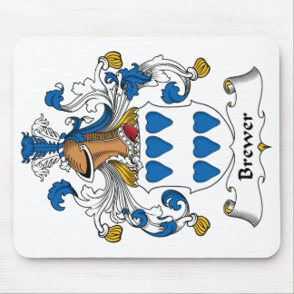 Brewer Family Crest Mouse Pad