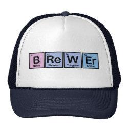 Trucker Hat with Brewer design