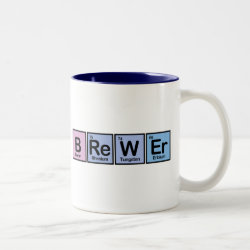 Two-Tone Mug with Brewer design