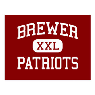 Brewer - Patriots - High - Somerville Alabama Postcard
