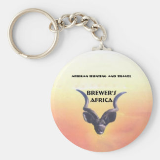 Brewer's Africa Logo Key Chain