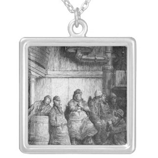 Brewers at Rest Silver Plated Necklace