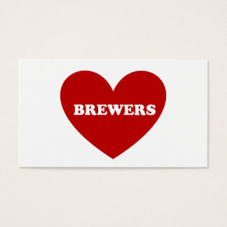Brewers Business Card