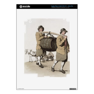 Brewers, from 'Costume of Great Britain' published iPad 3 Decal