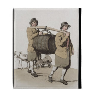 Brewers, from 'Costume of Great Britain' published iPad Folio Cover