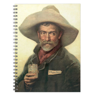 Brewery Ad 1889 Notebook