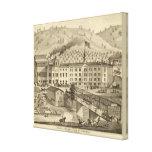Brewery and malt house of A Reymann Canvas Print