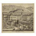 Brewery and malt house of A Reymann Poster