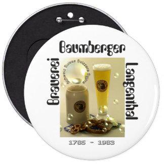 Brewery Baumberger Langenthal of button