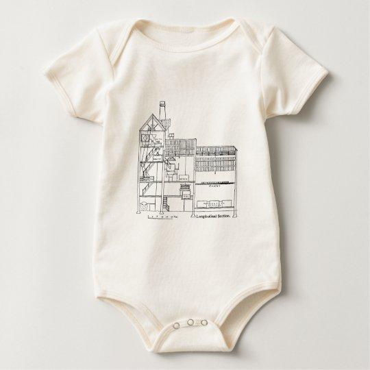 Brewery Blueprint Baby Bodysuit