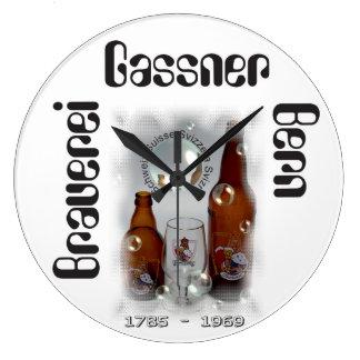 Brewery Gassner Berne/Brasserie Gassner Berne Large Clock
