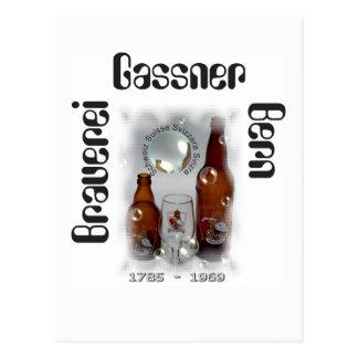 Brewery Gassner Berne postcard