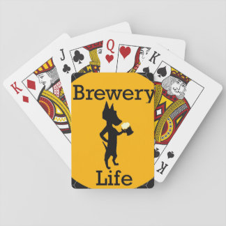 Brewery Life Playing Cards