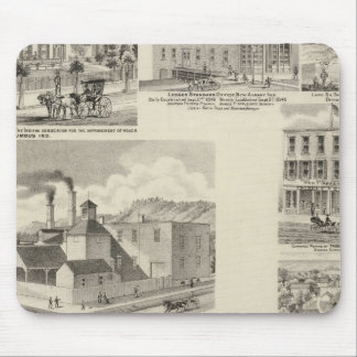 Brewery of Paul Reising, New Albany Mouse Pad