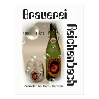 Brewery Reichenbach Berne postcard