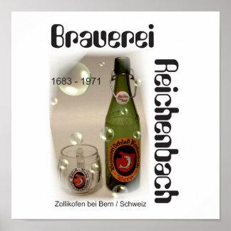 Brewery Reichenbach Berne poster