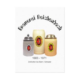 Brewery Reichenbach Berne pressure on wedge canvas
