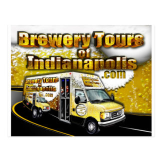 Brewery Tours of Indianapolis Postcard