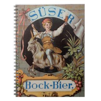 Brewery Unterengadin Süs - Susch note booklet Spiral Note Book