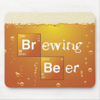 Brewing Beer Mouse Pad
