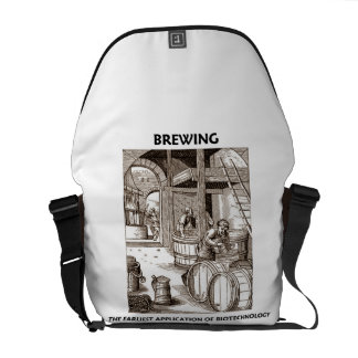 Brewing The Earliest Application Of Biotechnology Courier Bag