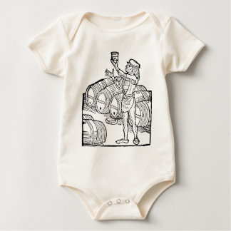 Brewmaster 1 - add your name! baby bodysuit