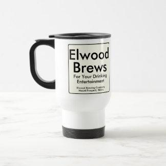 Brews de Elwood Taza De Viaje