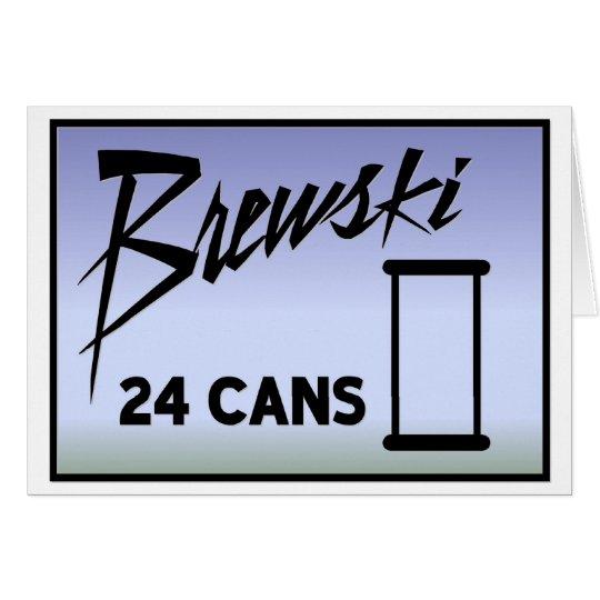 Brewski Card