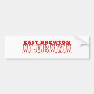 Brewton del este, Alabama Pegatina De Parachoque