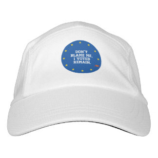 BREXIT - Don't Blame Me I voted Remain - Sticker - Hat