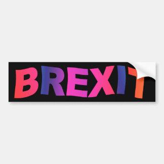 Brexit Pegatina Para Auto
