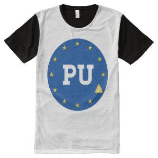 BREXIT - PU Sticker - -  All-Over Print Shirt