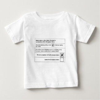 Brexit referendum in UK Baby T-Shirt