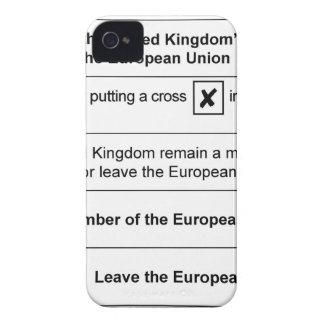 Brexit referendum in UK iPhone 4 Case-Mate Case