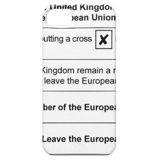Brexit referendum in UK iPhone SE/5/5s Case