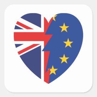 Brexit Square Sticker